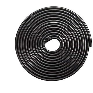 15 Mt Autotürkante Trim Seal Protector Anti-Kollisionsstreifen Gummistreifen Schwarz Anti-Friction Schützen Die Karosserie Universal Dekoration