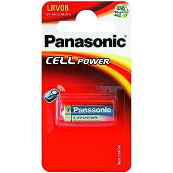 Panasonic LRV08L - Pila alcalina (12 V, 23 A, 38 mAh)