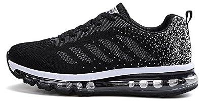 tqgold Unisex Uomo Donna Scarpe da Ginnastica Corsa Sportive Fitness  Running Sneakers Basse Interior Casual all Aperto bdc4de83b8b