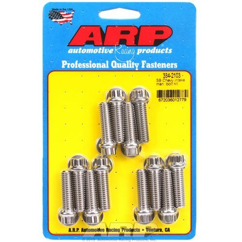 ARP 334-2103 Intake Bolt Kit for Small Block Chevy by ARP