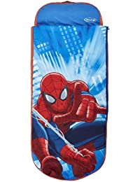 Marvel Spider-Man Junior ReadyBed - Kids Airbed and Sleeping Bag in one