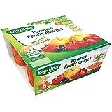 Blédina blédifruit purée de pommes et fruits rouges 4x100g dès 8 mois - ( Prix Unitaire ) - Envoi Rapide Et Soignée