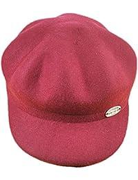 HATDOU Autunno e Inverno Stagione per Cappello Ottagonale da Donna in Ferro  Anello Cappello di Lana 01a3d400c46f