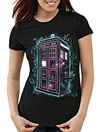style3 Who Space Box T-Shirt Damen dalek dr police doctor