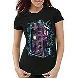 style3 Who Space Box T-Shirt Damen dalek dr police doctor, Größe:L