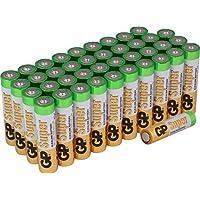 Batterien Micro AAA LR03 Vorratspack 40 Stück Super Alkaline, Markenware GP Batteries besonders langlebig und auslaufsicher