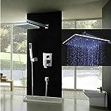 Colonna di doccia Set completo rubinetto + doccetta