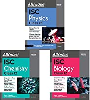 All In One ICSE Physics,Chemistry & Biology Class 12 2020-21(Set of 3 Bo