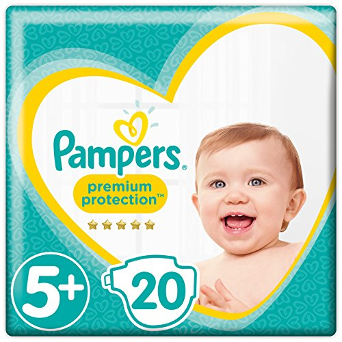 Pampers Premium Protection Gr.5+ Junior Plus13-25kg Tragepack