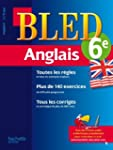 Cahier Bled - Anglais 6�me - 11-12 ans