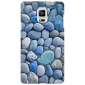 URBAN KOLOURS Original Designer Printed Hard Case Back Cover for Samsung Galaxy Note 4 (Beach Stones)
