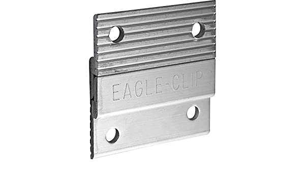 Eagle 2 Z-Clips 5 Pairs Heavy Duty Picture Hangers 10 Clips