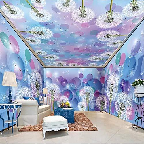 Sucsaistat Wallpaper Mural 3D Tapete HD Wandbehang voll Haus frei Desktop-Tapeten Moderne Mädchen Schlafzimmer Dekoration Kontakt Papier Wandbild, 400 * 280cm