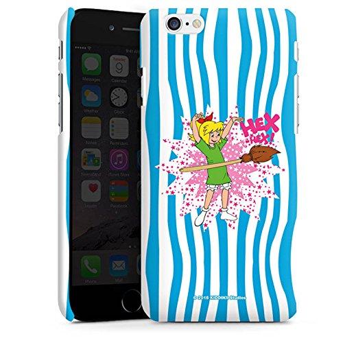 Apple iPhone X Silikon Hülle Case Schutzhülle Bibi Blocksberg Fanartikel Merchandise HEX-HEX! Premium Case matt