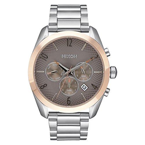 nixon-montre-bracelet-mixte-bullet-a-quartz-analogique-en-acier-inoxydable-a366-2215-00
