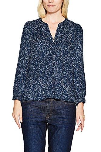 ESPRIT Damen Bluse 117EE1F001, Mehrfarbig (Argosy 400), 40