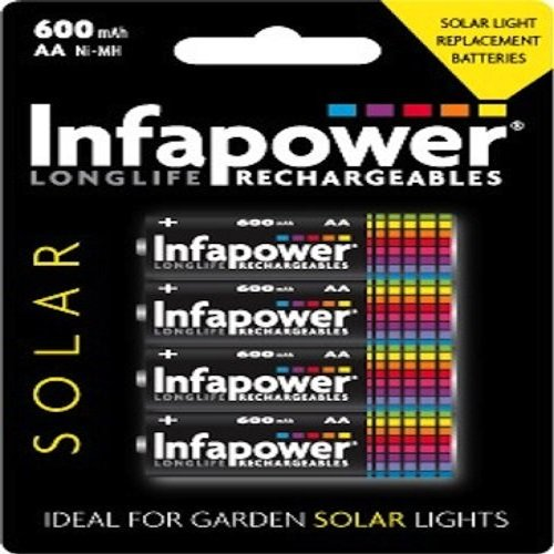 infapower-aa-600mah-solar-with-4-rechargeable-batteries