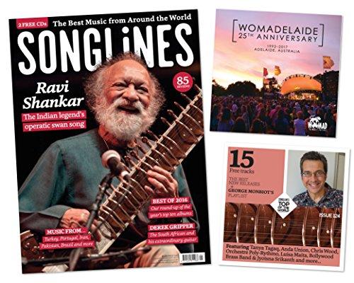 Songlines magazine + CD (agosto/settembre 2016Issue # 120) con guida internazionale World Music Festival 2016-17