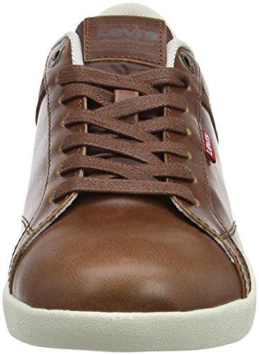 Levis Loch Derby, Sneaker Uomo Marrone (brun Moyen)