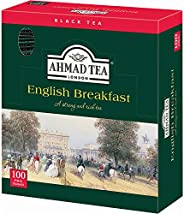 Ahmad Tea English Breakfast Black, 100 Tea Bags