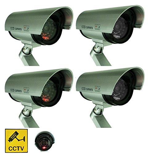 4-Stck-Kameraatrappe-Dummy-IP-Kamera-berwachungskamera-mit-Blink-LED