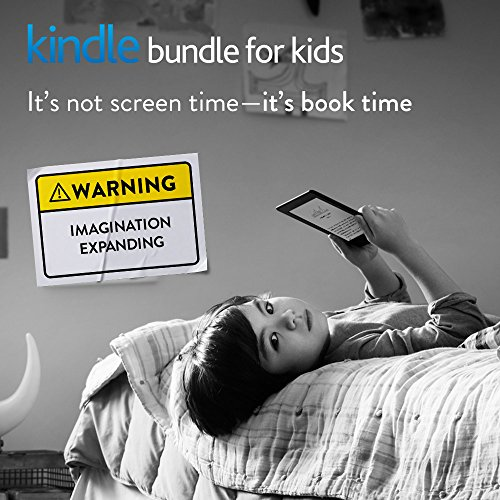 Kindle Bundle for Kids with the latest Kindle E-reader, 2-Year Accident Protection, Kid-Friendly Black Cover