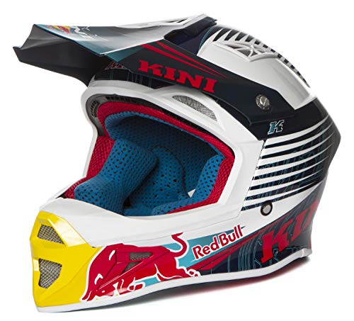 Casco Kini Red Bull Competition Navy White - Taglia L