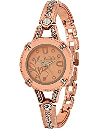 Relish RE-L025CC Copper Metal Analog Watches for Girls, Women