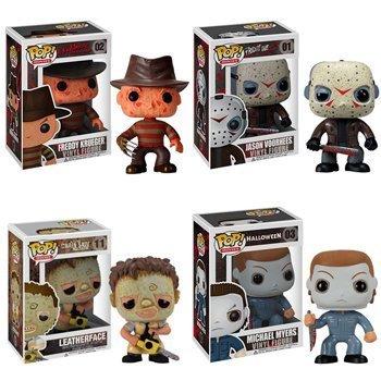 ures of 4 (Freddy, Jason, Michael Myers & Leatherface) ()