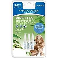 Francodex Francodex 3 Pipetas Repelente Perro