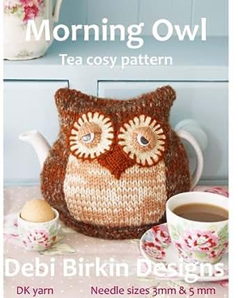 Owl Tea Cosy Knitting Pattern Ebook Debi Birkin Amazon