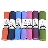 HHROD Yoga Mat TPE Various Colors Lengthen Widen183*61*0.8 , 183*80*0.8cm , 183*80*0.6cm Environmental Friendly Yoga Supplies