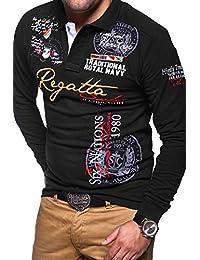 MT Styles Langarm Poloshirt REGATTA T-Shirt MP-452