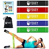 FEGSY Resistance Loop Exercise Bands for Squats, Hips, Legs, Butt, Glutes and Heavy