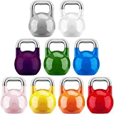 Gorilla Sports Kettlebell Competition Profi 8-32 KG - 8