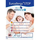 EUROALLERGY Stop   Funda Protector de Colchón con Cremallera   Impermeable, Transpirable, Antialérgica y