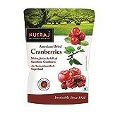 #9: Nutraj Sweet & Tart Sliced American Dried Cranberries 540g