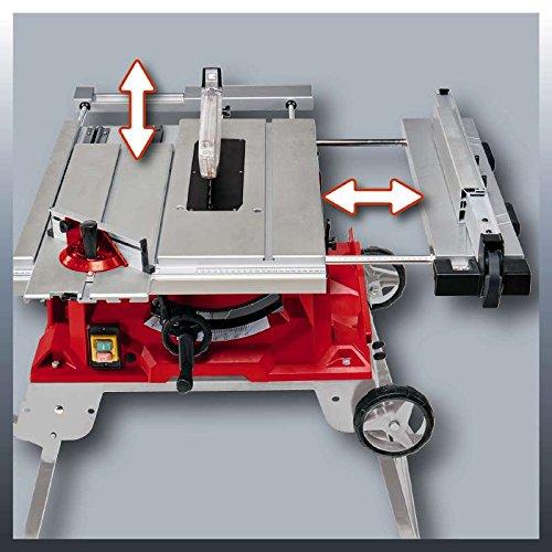 Einhell Tischkreissäge TE-CC 2025 UF (2000 W, Sägeblatt Ø250 x Ø30 mm, max. Schnitthöhe 78 mm, Tischgröße 645 x 530 mm) - 3