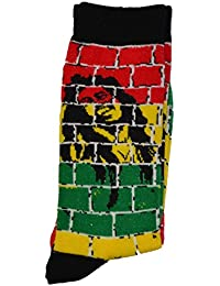 Herren Rasta Löwe von judha Ganja Leaf Baby Rasta Crew Socke 's