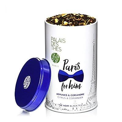 Palais des Thés - Thé Noir PARIS FOR HIM - Boîte métal 100g