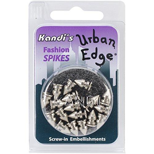 Kandi Corp Urban Edge Baum mit Schraubverschluss, 8 mm, silberfarben, 18 Stück