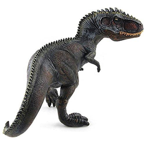 Amazemarket Simulation Giganotosaurus Figuren Modell Sammlung Spielzeug Realistisch klassisch Tier Jurassic Dinosaurier Ornamente Kunststoff Vinyl entwickeln Kinder Phantasie (schwarz)