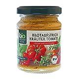 biozentrale Brotaufstrich Kräuter-Tomate, 3er Pack (3x125g)