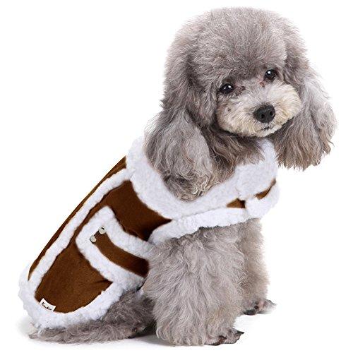 Hundemäntel Hundejacken Winter für kleine - und mittle Hunde Katzen Pet Haustier - Kleine Winter Hunde Für Pet-kleidung
