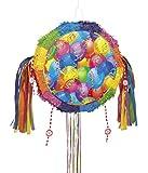 Unique Party Piñata de Globos Brillante para Tirar (26841)