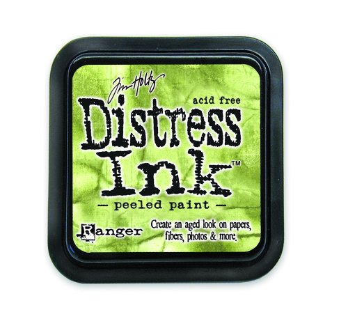 Ranger 18780610 Tim Holtz Distress Ink Pad, Peeled Paint, 7.5 x 7.5 x 11 cm - Papier Distress