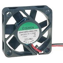 40 x 10 mm EB40100S2 ventilador Sunon -999 DC 5 V 5800 U/min 27dBA rodamientos 2 filamentos