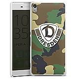 Sony Xperia XA Ultra Hülle Case Handyhülle Sg Dynamo Dresden Logo Camouflage