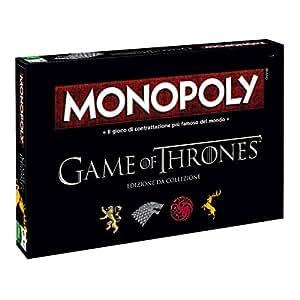 Winning Moves 029100 - Gioco da Tavolo Monopoly Game of Thrones, Edizione da Collezione Versione Italiana