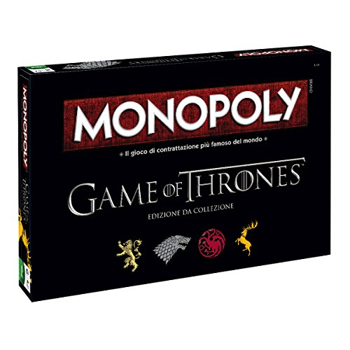 Monopoly Game of Thrones Collezione, Versione Italiana Winning Moves